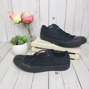 Converse Black Low Top Sneakers